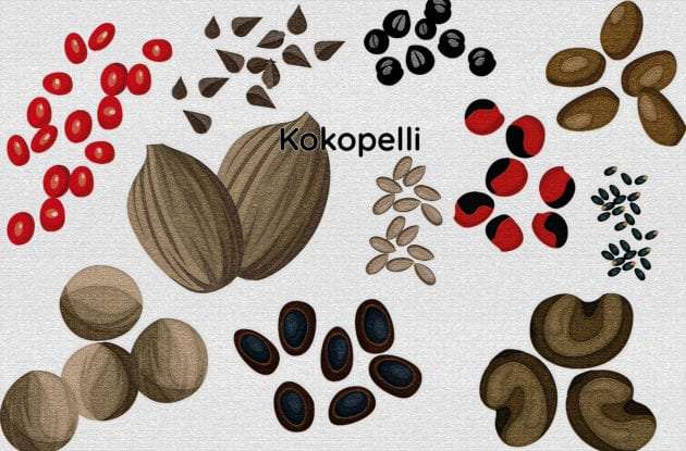 Kokopelli Tournesols A Grains « Mammoth »